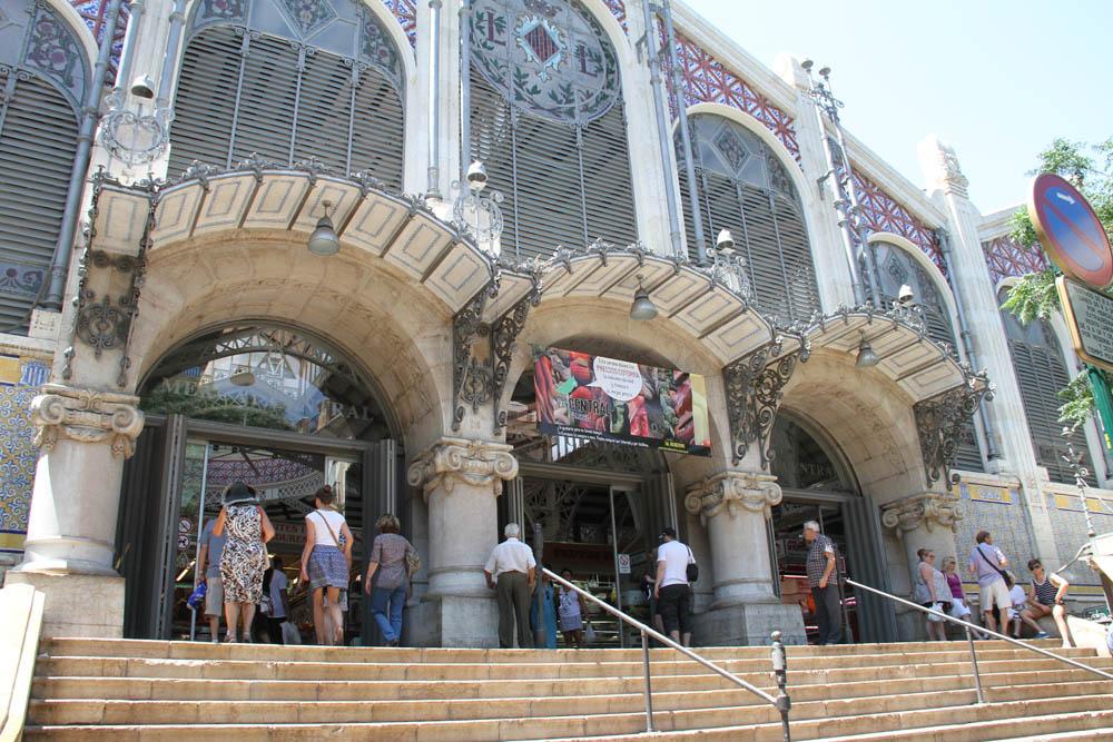 Fachada del Mercado Centra l de Valencia © CostaFotografo.es