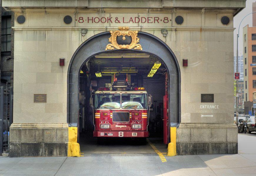 ¿Quieres ver la estación de bomberos de los Cazafantasmas?