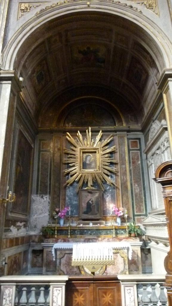 Iglesia de Santi Vincenzo e Anastasio a Trevi de todo corazón