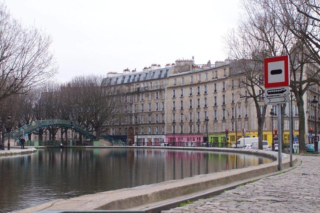 Canal de Saint Martin: aguas menores de París