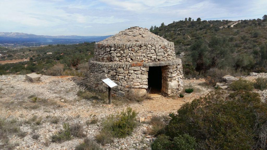 Las barracas de piedra seca del Montsià