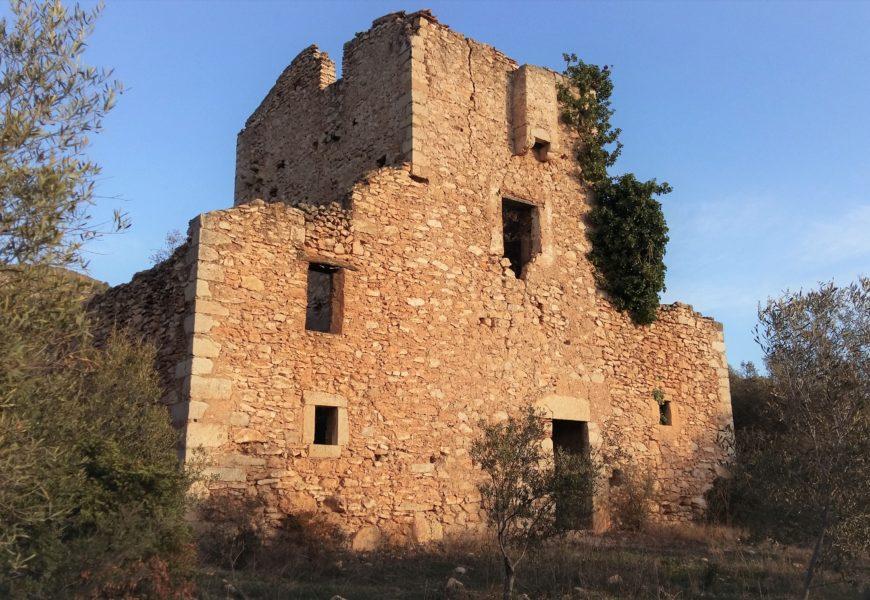 El camino de los Bandoleros entre La Ràpita y Alcanar