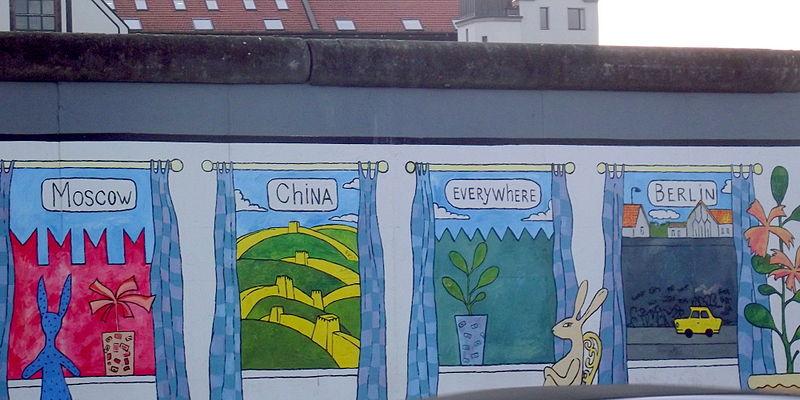 Muro de Berlín Flickr Creative Commons by Mini Elena 313