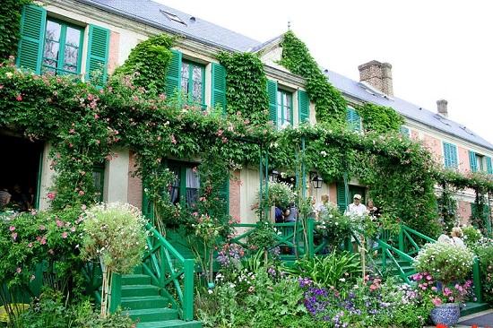Casa de Claude Monet.