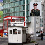 Check Point Charlie Berlin Wikipedia Commons by Raimond