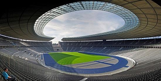 Estadio Olímpico de Berlín tras la reforma de 2006.