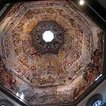 Interior de la cúpula del Duomo de Florencia Wikipedia Commons by Ssdctm