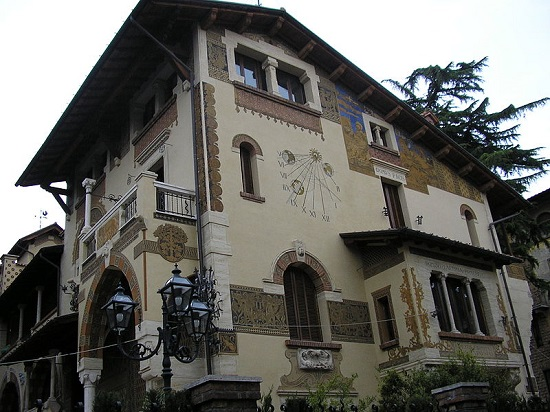 Casa Quartiere Coppetè Roma Guias Travel Wikipedia Commons entrada Coopetè by D Doc