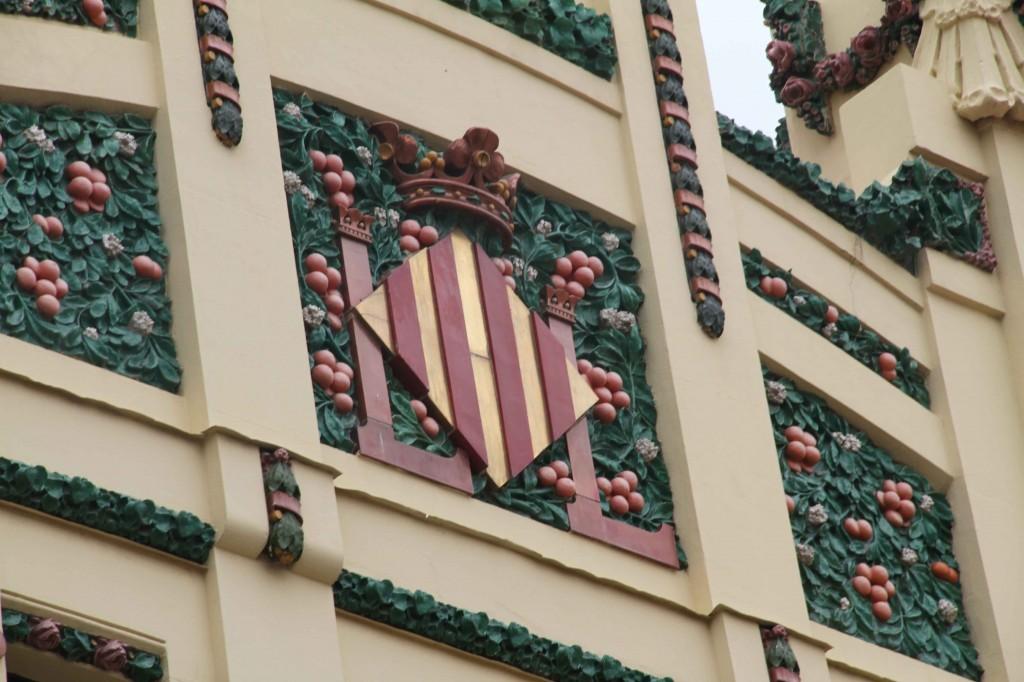 Escudo de Valencia en Estación del Norte © CostaFotografo.es