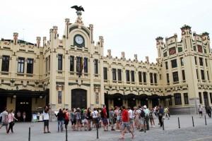 Fachada de la Estación del Norte de Valencia © CostaFotografo.es