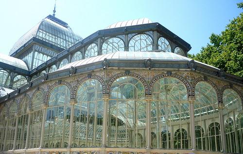 Exterior del Palacio de Cristal MADRID © Federico Romero