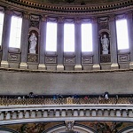Galería de los Susurros de la Catedral de San Pablo de  Londres Wikpedia Commmons  by Magnus Manske