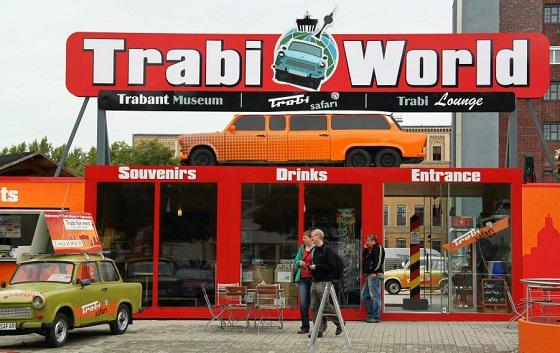 Museo del Trabant en Berlín.