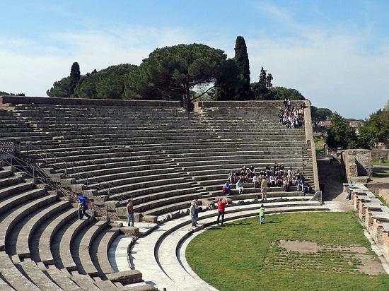 Teatro romano de Ostia Antica.