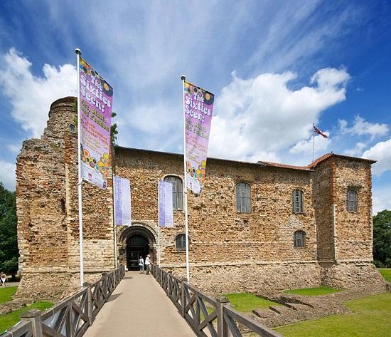 Castillo de Colchester.