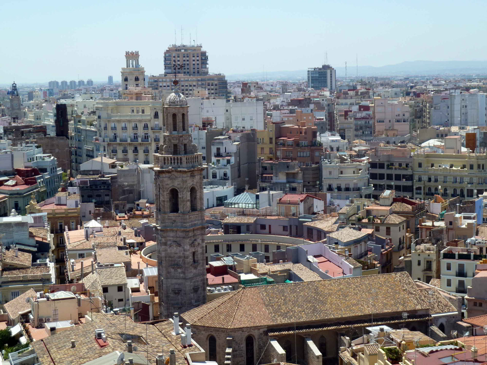 Vistas desde el Micalet (Valencia) © CostaFotografo.es