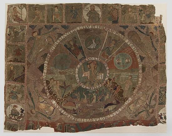 Tapiz de la Creación Catedral de Girona.