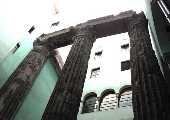 Templo de Augusto de Barcelona.