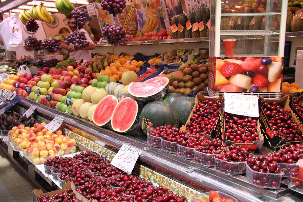 Frutas del Mercado Central de Valencia © CostaFotografo.es