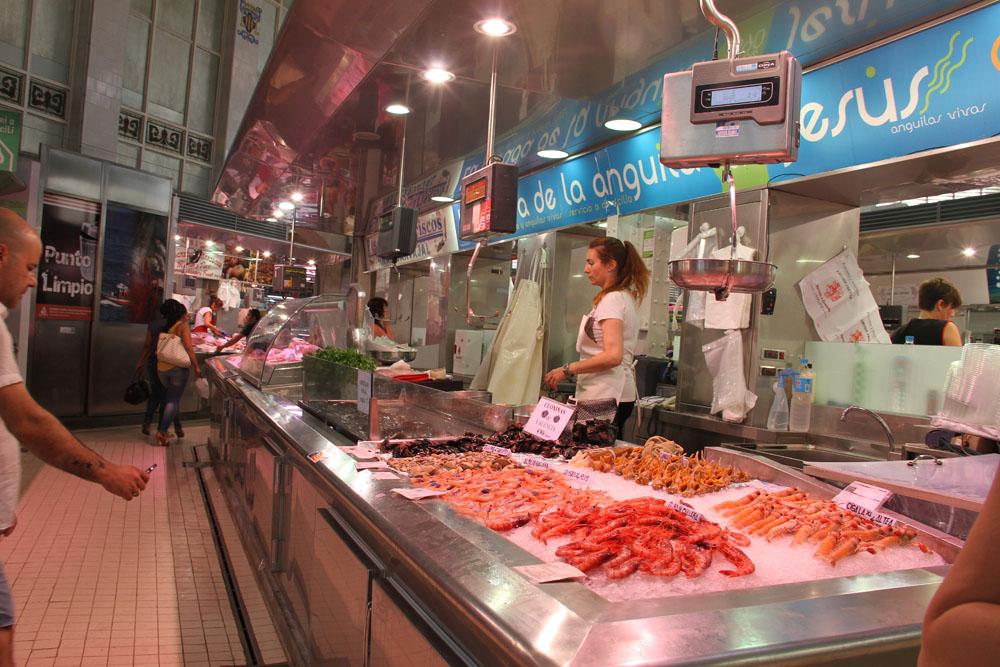 Puesto del Mercado Central de Valencia © CostaFotografo.es