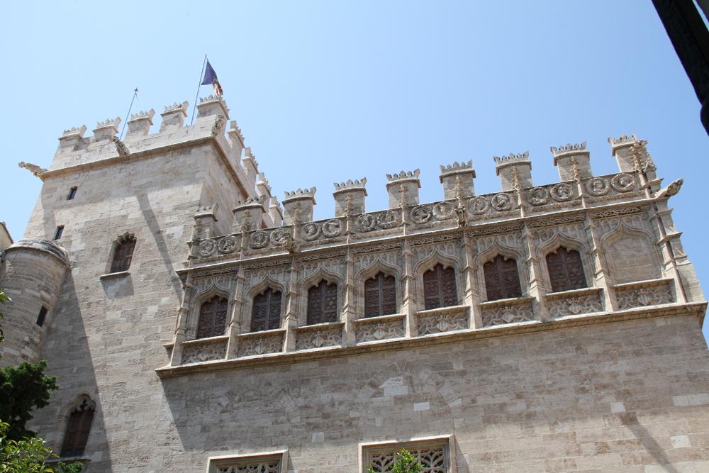 Torre de la Lonja de la seda (Valencia) © CostaFotografo.es