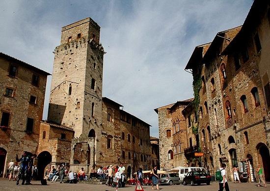 Torres de San Gimignano.