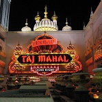 Casino Taj Mahal de Atlantic City.