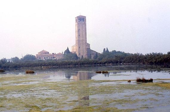 Isla de Torcello y su catedral.