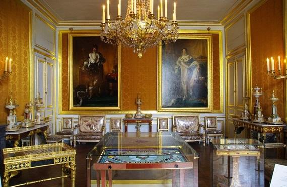 Museo de Napoleón de Fontainebleau.