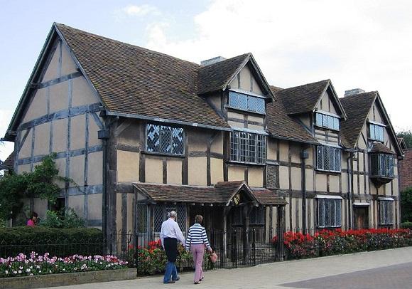 Casa natal de Shakespeare .