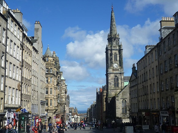 High Street, Edimburgo.
