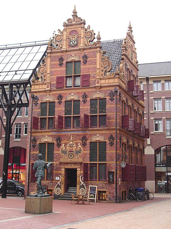 La Goudakantoor de Groningen.