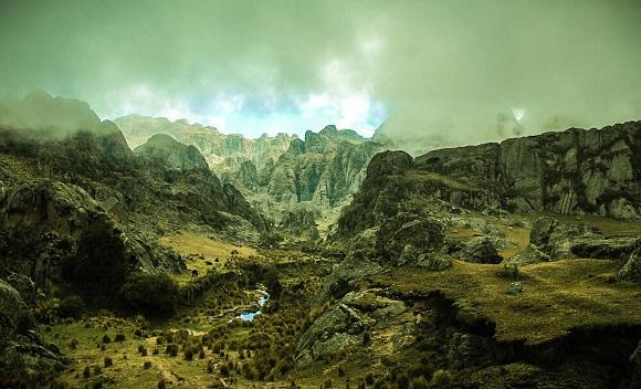 Valle de los Gigantes de Córdoba.