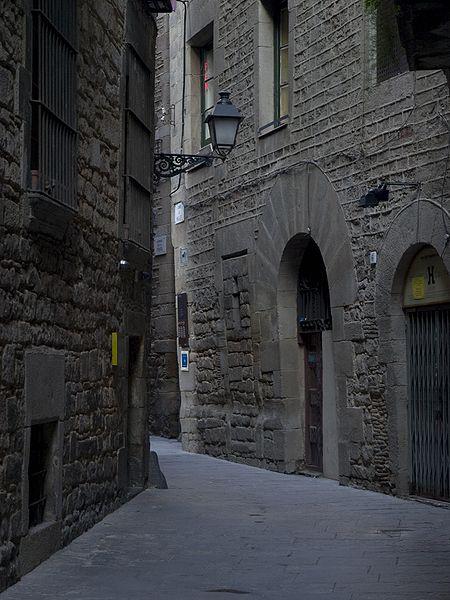 Calles del Cal de Barcelona.