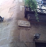 Calle Montcada Wikipedia Commons by Kippelboy