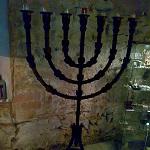 Menorá de la sinagoga del Call de Barcelona