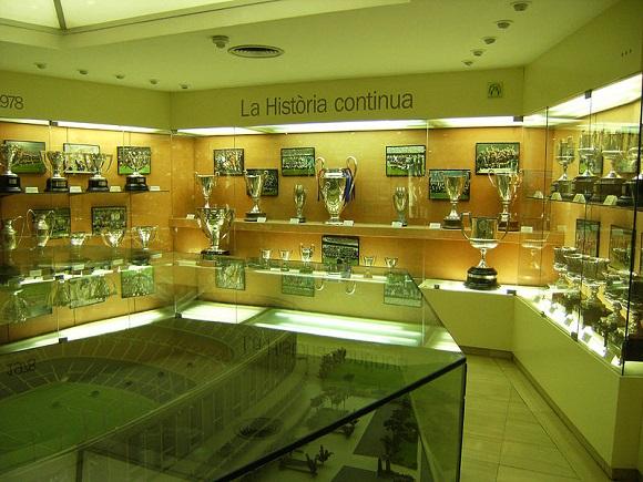 Museo del Fútbol Club Barcelona.