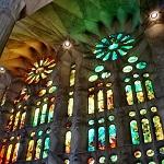 Sagrada Familia vitrales