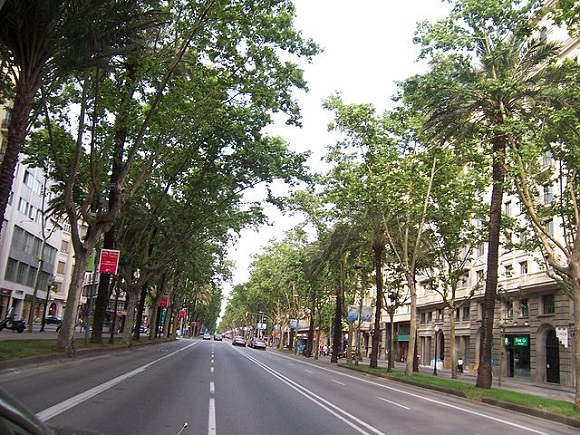 Avenida Diagonal.