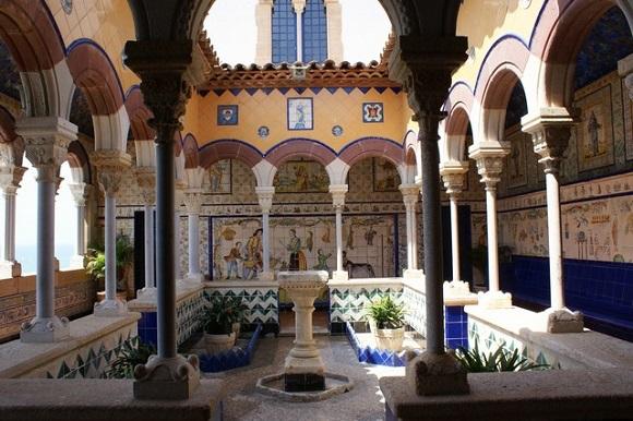 Claustro del Palau de Maricel.