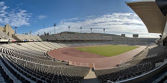 Estadio Olímpico de Montjuic.