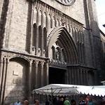 Fachada de la Iglesia de Santa María del Pi