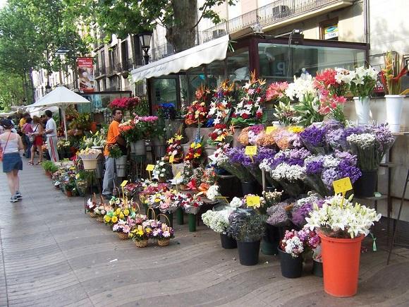 Rambla de las Flores.
