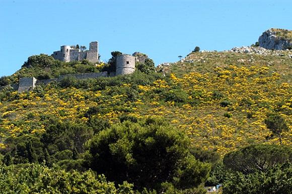 Castillo de Barba Roja, Capri.