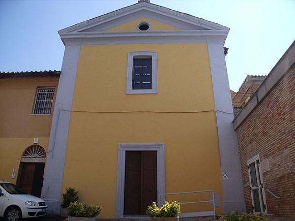 Iglesia de San Miguel Arcángel de Cerveteri.