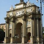 Arco del triunfo de la Piazza della Libertá de Florencia
