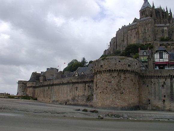 Fortificaciones de Mt Saint Michel.