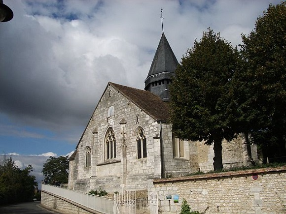 Iglesia de San Radegundo de Giverny.