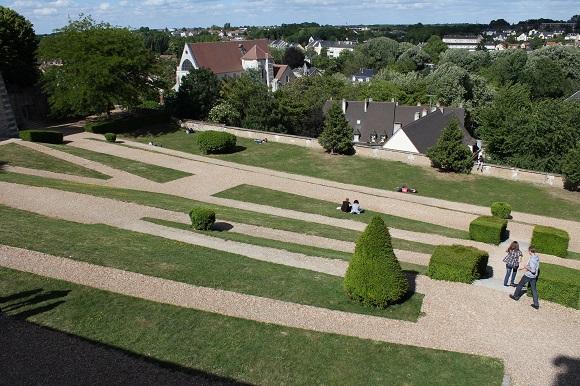 Jardines del Obispo de Chartres.