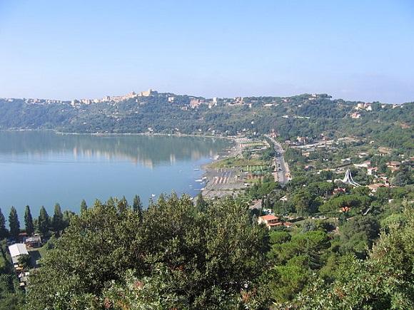 Lago Albano.